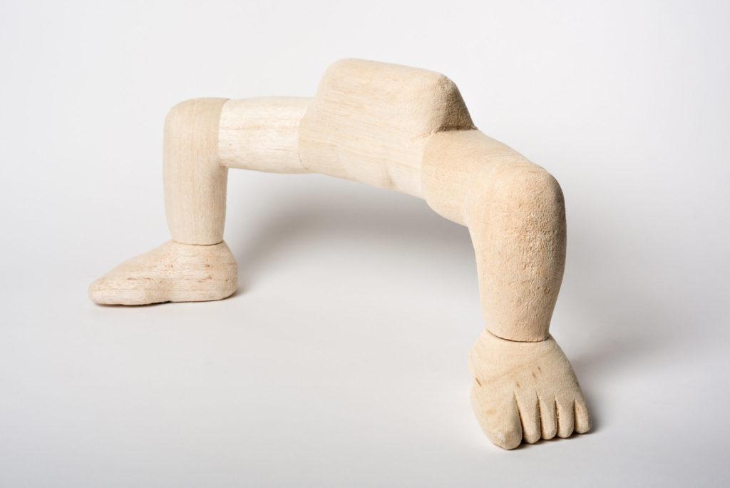 Manspread - Carved Balsa  18