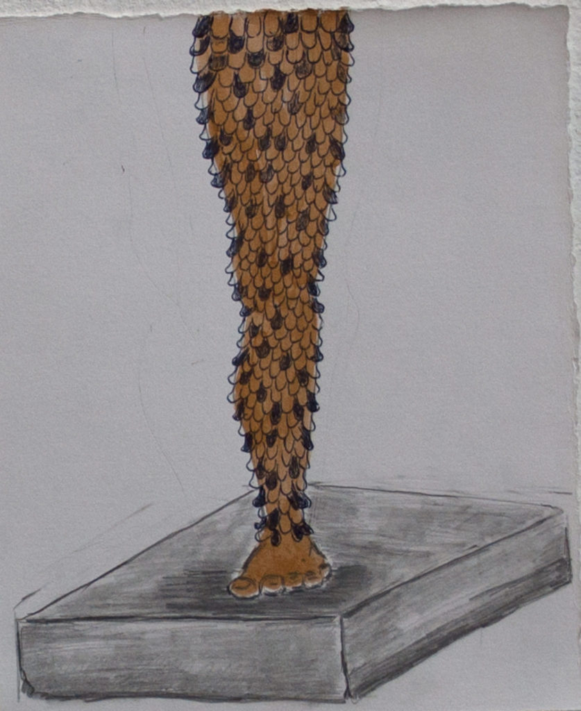 One Gold Leg -