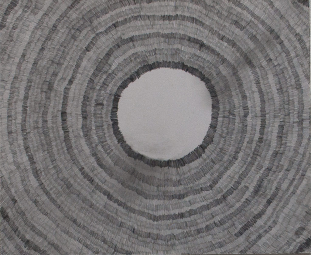 Circle Study - Pencil on Paper 17